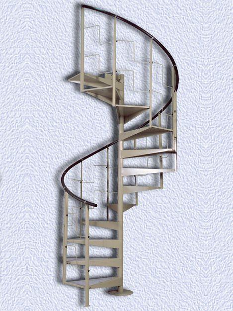 Железные винтовые лестницы